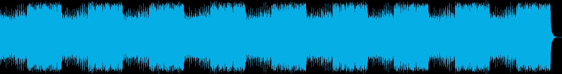 明るく壮大なフルオーケストラの再生済みの波形