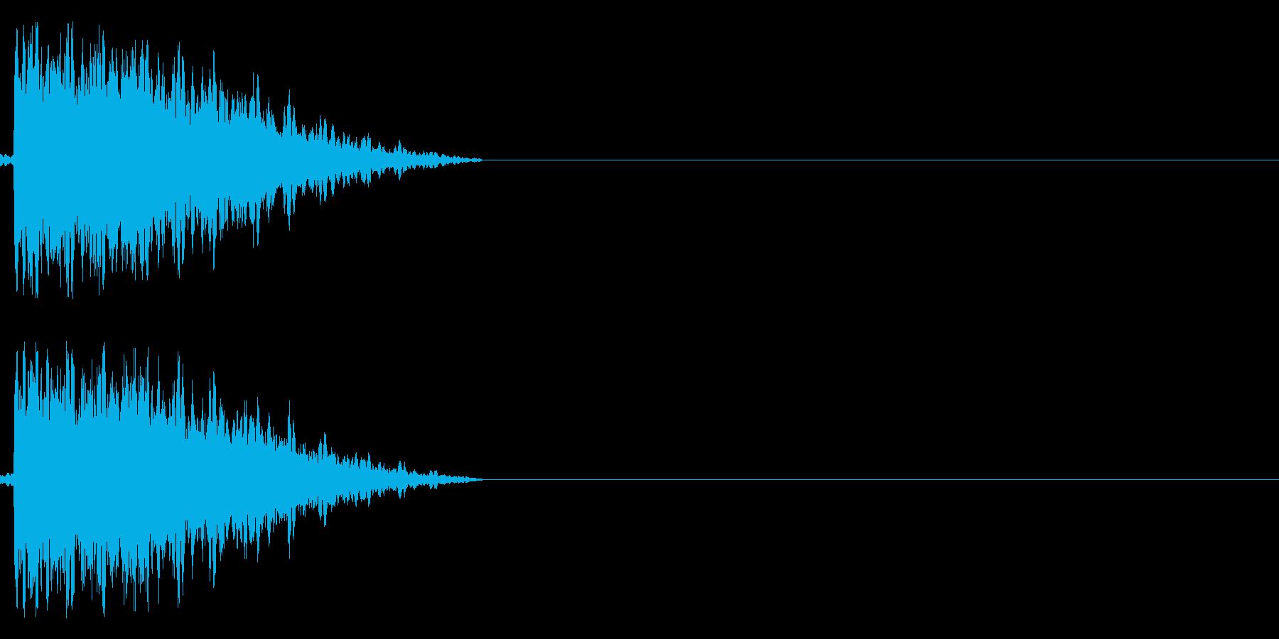 ガシュン(ロボ、機械系)の再生済みの波形