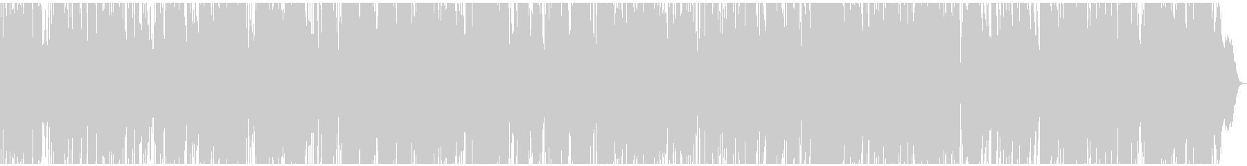生音生楽器のリラックスしたスムースジャズの未再生の波形