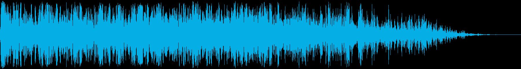 ヘビーサンダーランブル、ウェザーサ...の再生済みの波形