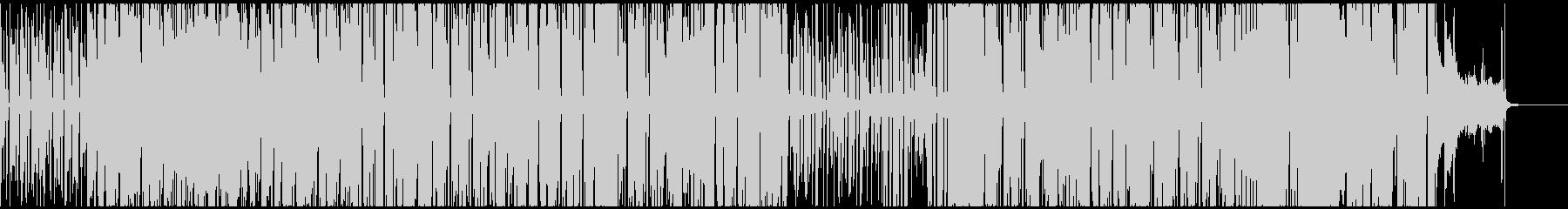 ジングルベルのお洒落なジャズアレンジの未再生の波形