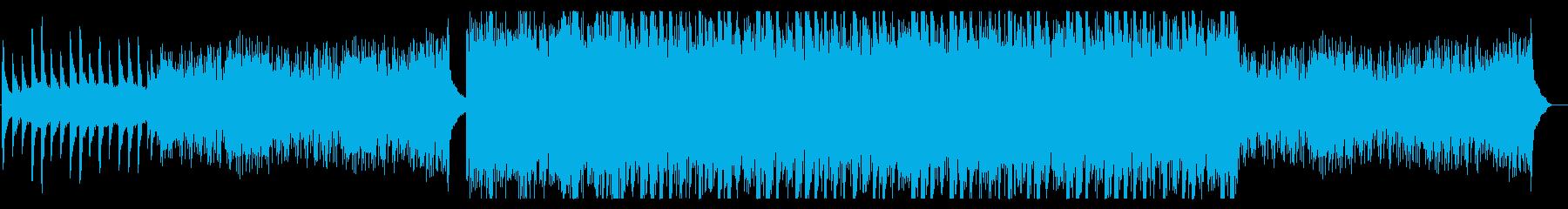 壮大に広がるピアノ曲・絶景 ・感動系の再生済みの波形