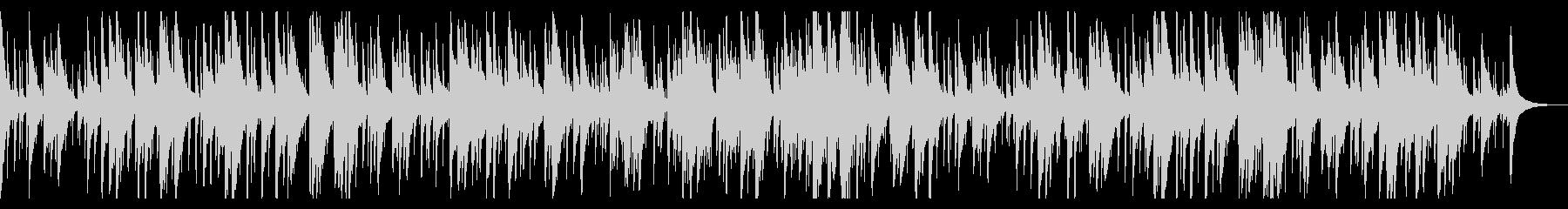 お洒落なジャズピアノトリオ20 バラードの未再生の波形