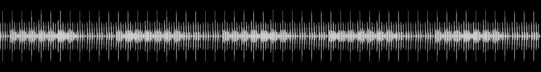 テクノ、ポップ、シンセ、ループの未再生の波形