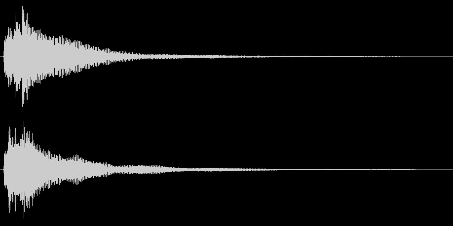 チャラララーン↑(ハープ、爽やか)の未再生の波形