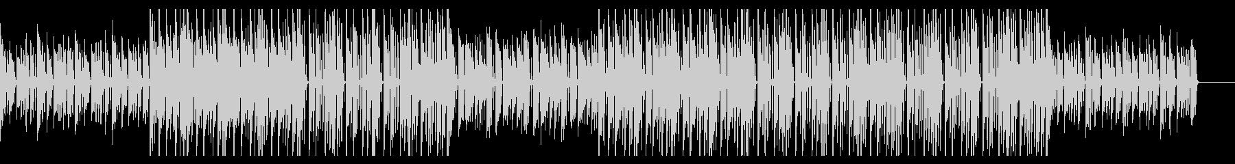 切ないピアノ伴奏 トラップ風BGMの未再生の波形