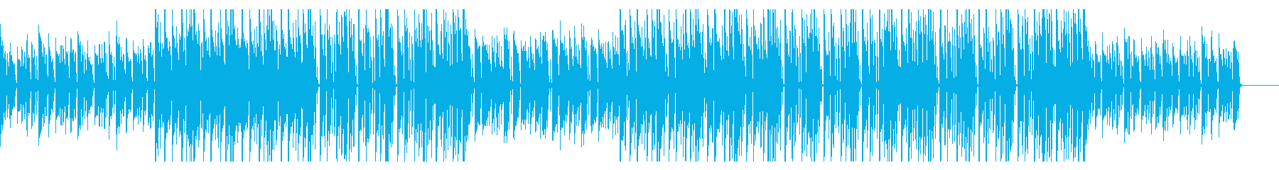 切ないピアノ伴奏 トラップ風BGMの再生済みの波形