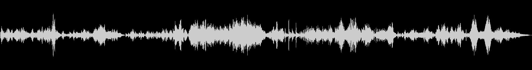 ドヴォルザーク作曲ソナチネ2の未再生の波形