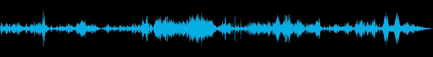 ドヴォルザーク作曲ソナチネ2の再生済みの波形