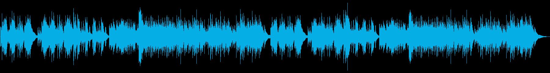 京都、夏、秋、和風、ピアノ、琴、企業VPの再生済みの波形