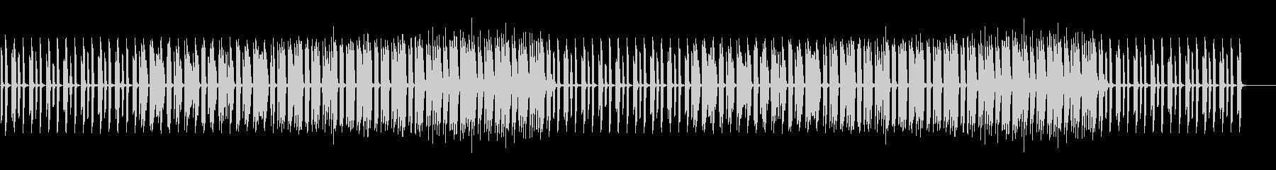 ゆるい、ほんわか、かわいい、日常系ピアノの未再生の波形