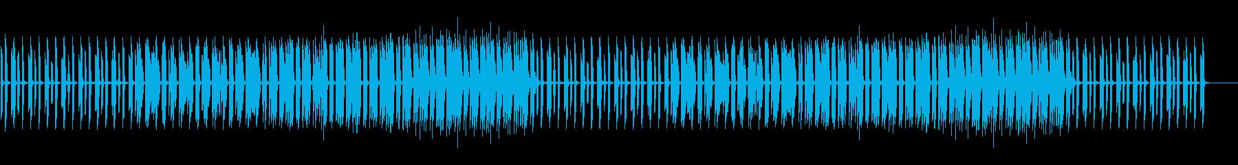 ゆるい、ほんわか、かわいい、日常系ピアノの再生済みの波形