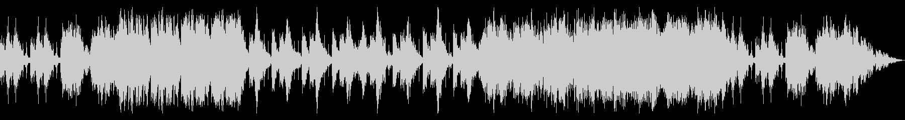 太鼓と打楽器のアンサンブルの未再生の波形