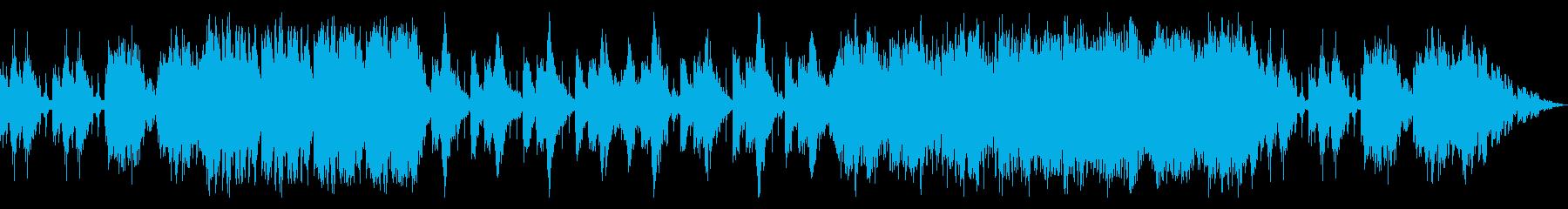 太鼓と打楽器のアンサンブルの再生済みの波形