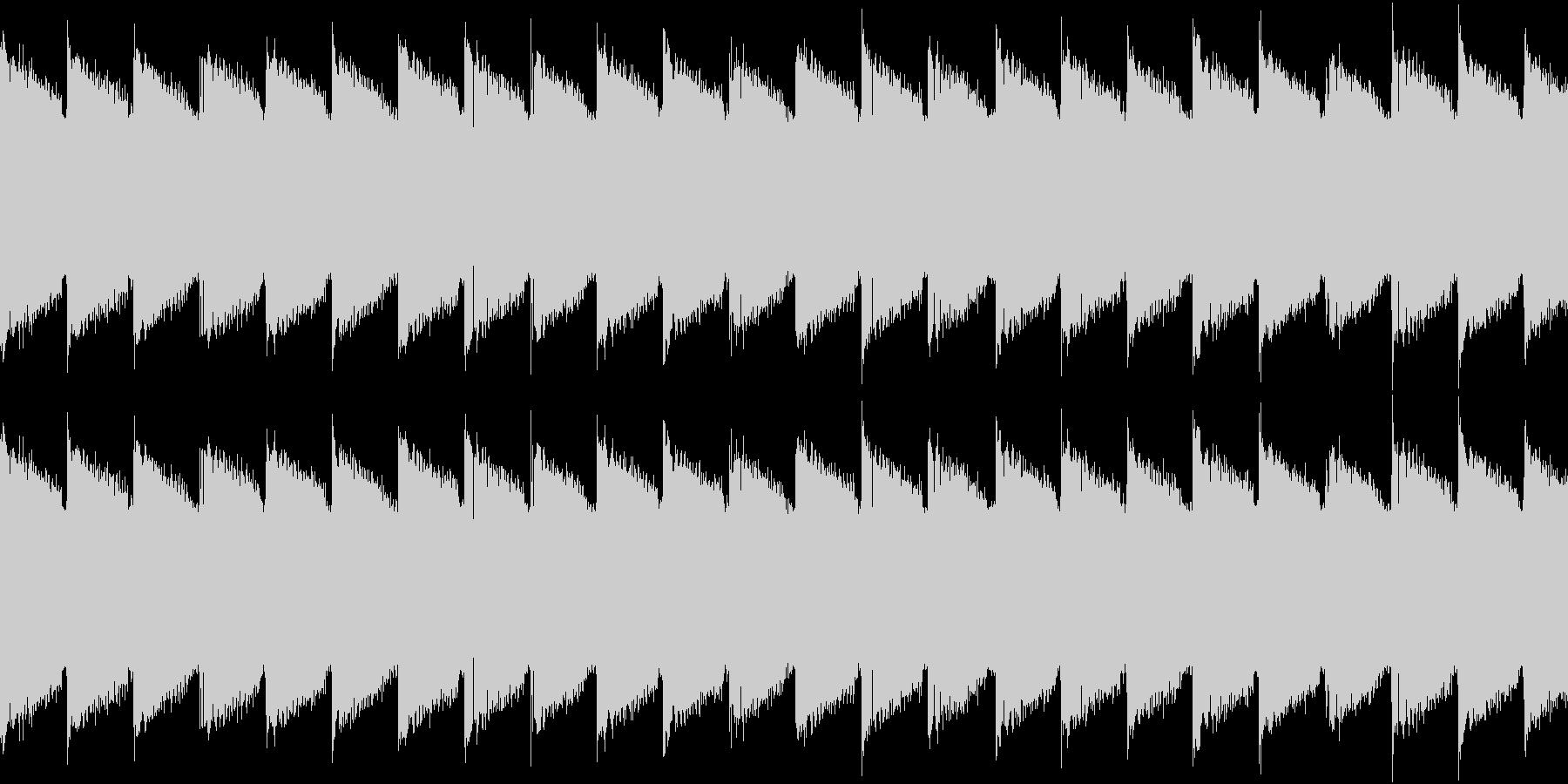 シンセ サイレン アナログ ピコピコ07の未再生の波形
