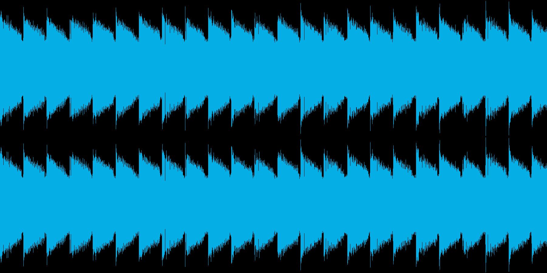 シンセ サイレン アナログ ピコピコ07の再生済みの波形