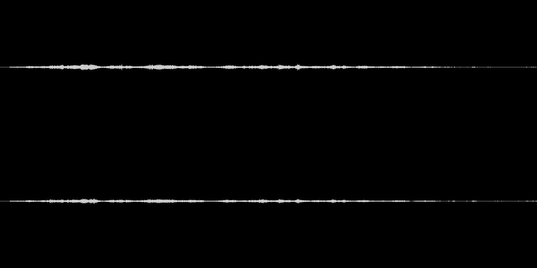 ガサガサ(紙を擦り合わせる音)の未再生の波形