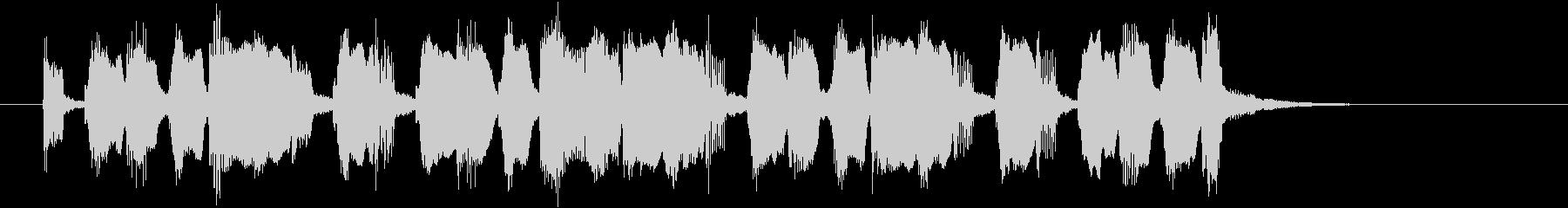 ほっこりするリラクゼーションミュージックの未再生の波形