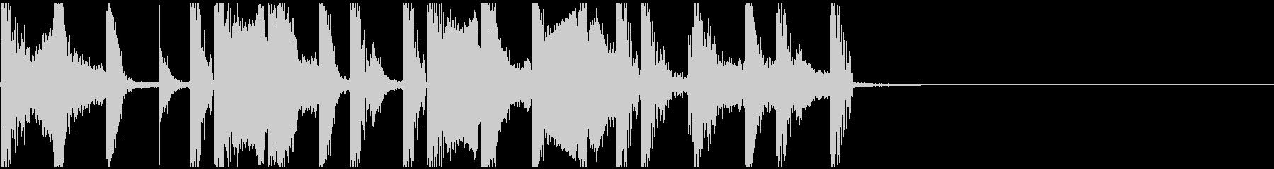 フルートを用いたファンファーレの未再生の波形