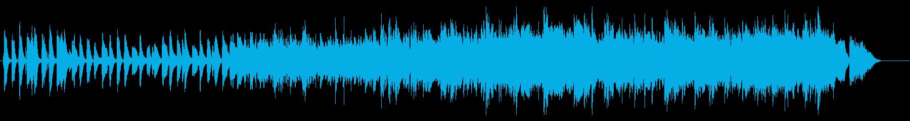 かわいい・ノスタルジック・ピアノ・オケの再生済みの波形