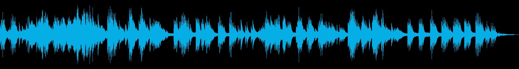 まどろみ/ゆったりな和風曲15-ピアノ の再生済みの波形