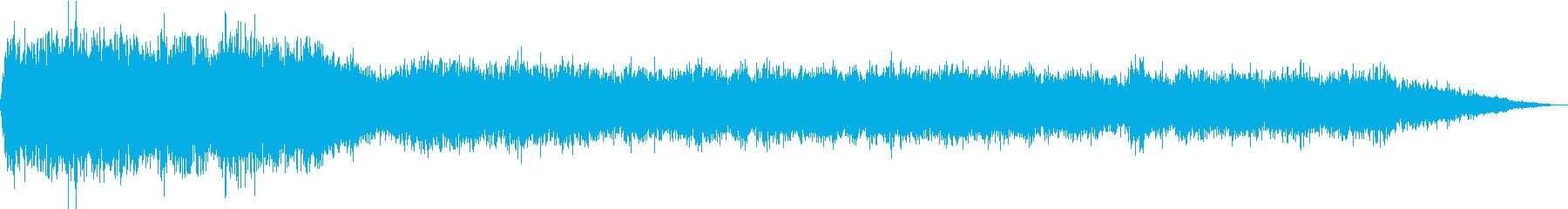 ガス放出;ガラス管2;安定した高音...の再生済みの波形