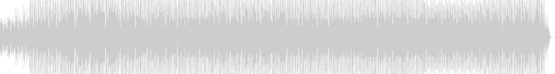 アンニュイなピアノとサックスが心地よいの未再生の波形