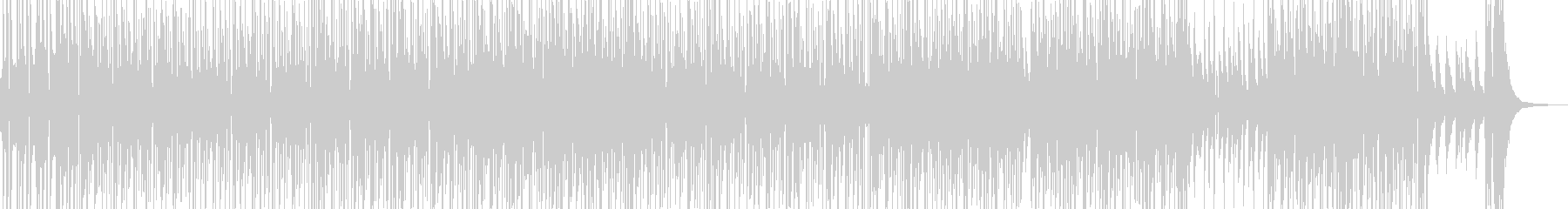 シャレたリズムのアダルティなR&B Bの未再生の波形