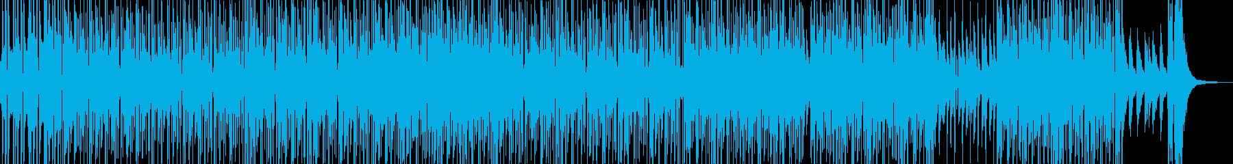シャレたリズムのアダルティなR&B Bの再生済みの波形