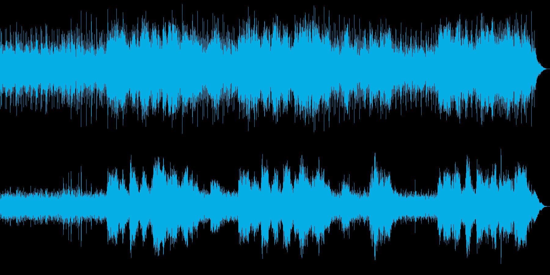 壮大で神聖なリラクゼーションアコギBGMの再生済みの波形