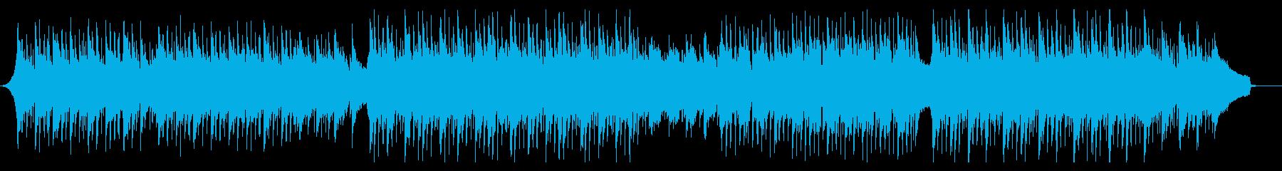 モダンでクールなコーポレート、CM向けの再生済みの波形
