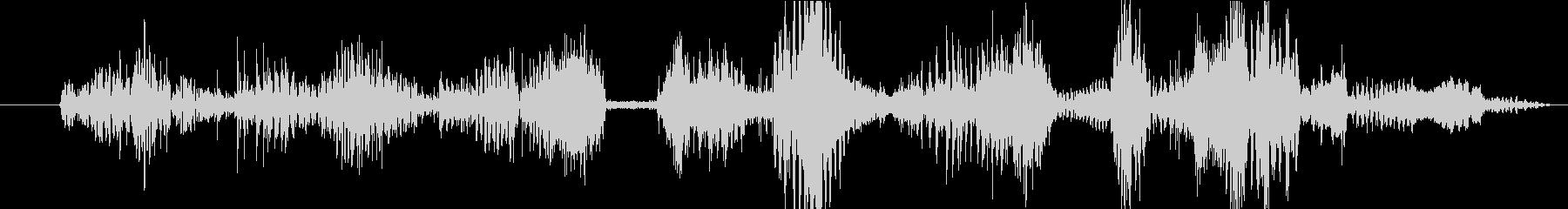 イメージ クレイジートーク05の未再生の波形