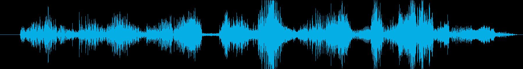 イメージ クレイジートーク05の再生済みの波形