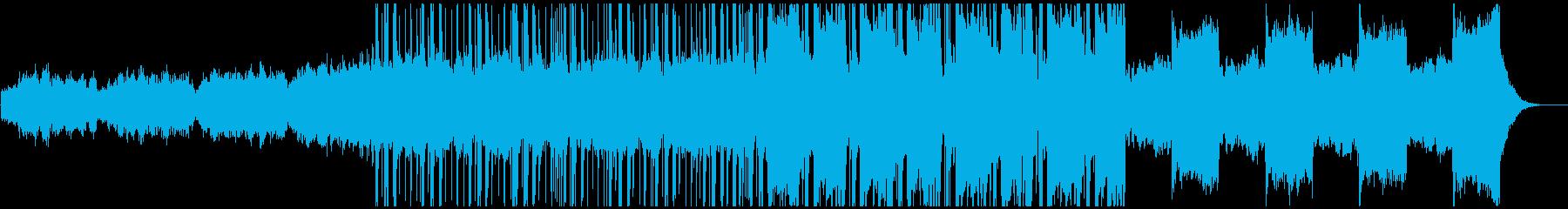 昔っぽいサウンドが特徴的なLofiビートの再生済みの波形