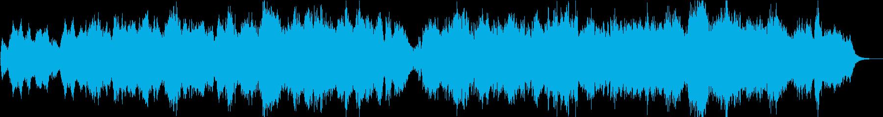 ピアチェールダモール/愛を演出するBGMの再生済みの波形