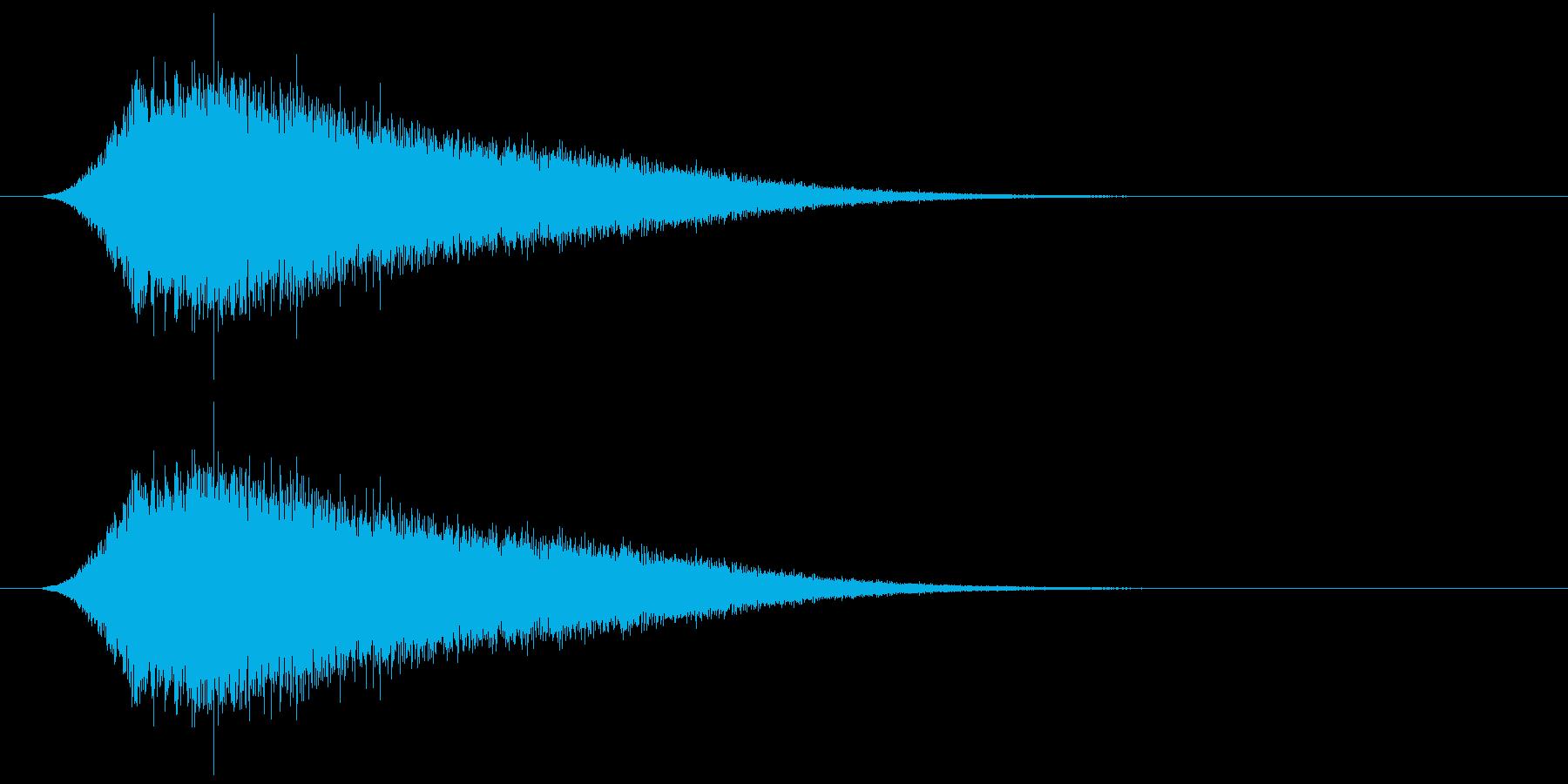 キラキラ/回復アイテム/癒しの再生済みの波形