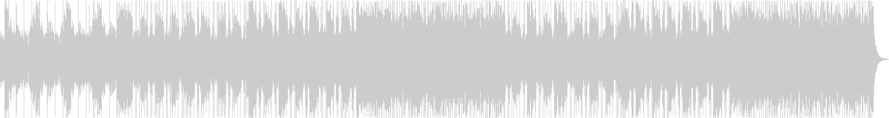 モダンでヘビーなバンドサウンドの未再生の波形
