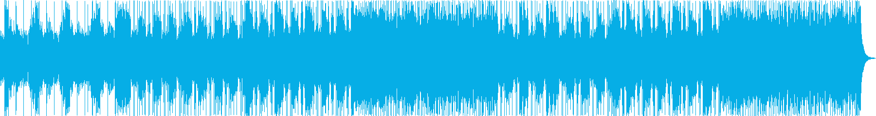 モダンでヘビーなバンドサウンドの再生済みの波形