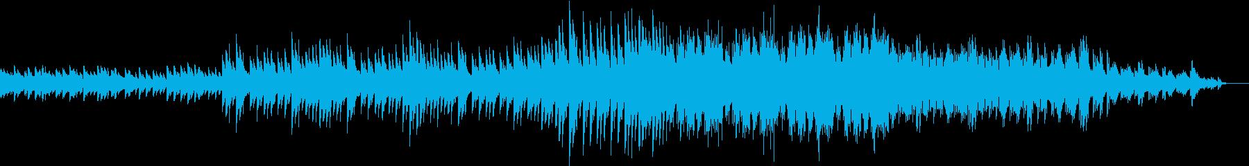 優しいクリスマスソングの再生済みの波形