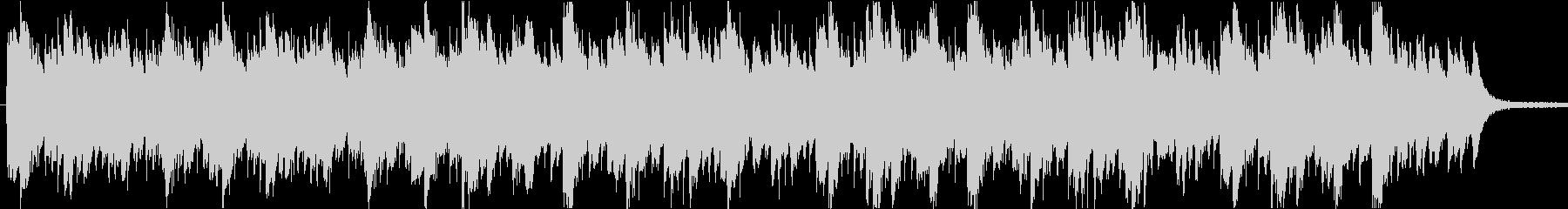 ほのぼのとしたアジアンBGMの未再生の波形