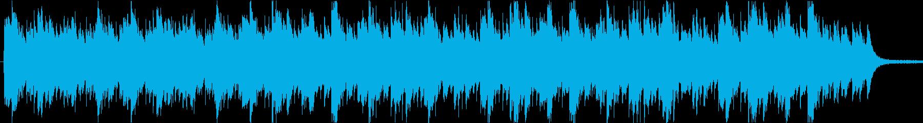 ほのぼのとしたアジアンBGMの再生済みの波形