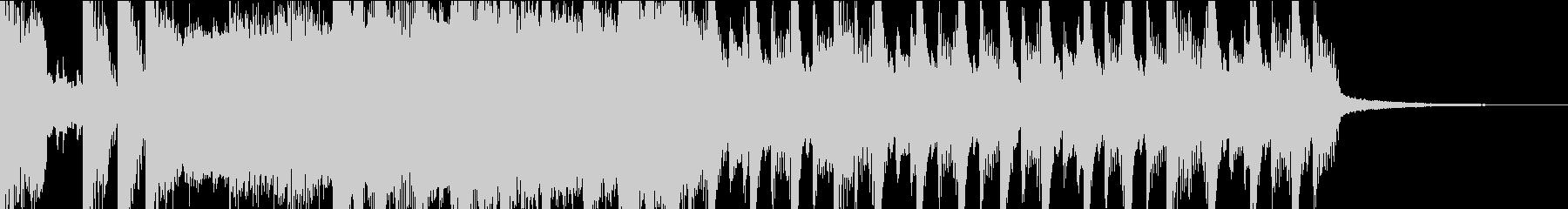 ポップでわくわくするシンセ曲 OPなどにの未再生の波形