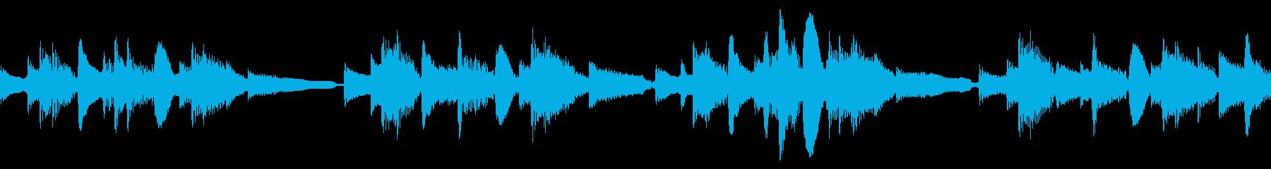 アコギ56/ファンタジー、20秒ループの再生済みの波形