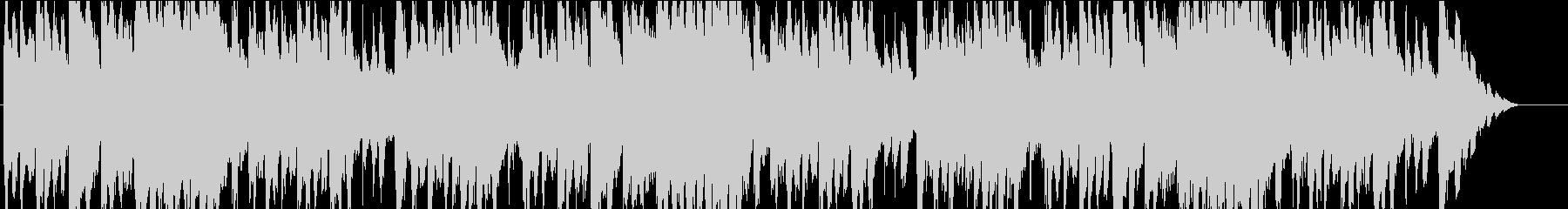 コミカルで不思議なハロウィン曲の未再生の波形