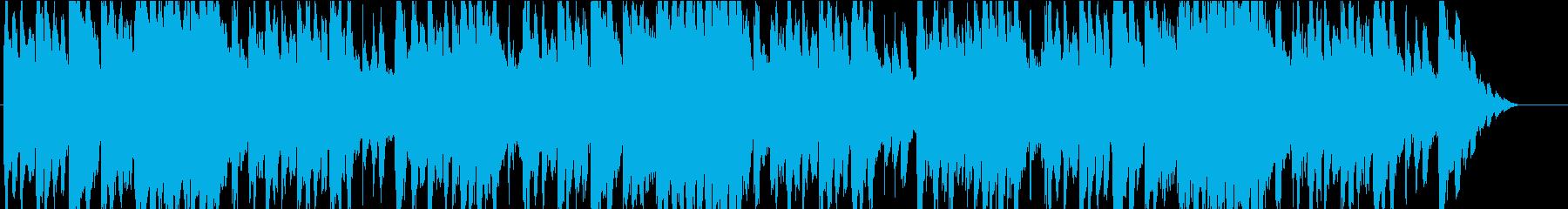コミカルで不思議なハロウィン曲の再生済みの波形