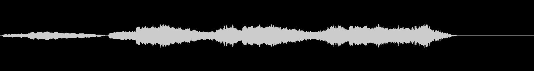 音楽、ゴシックステム、声、ボーカル...の未再生の波形