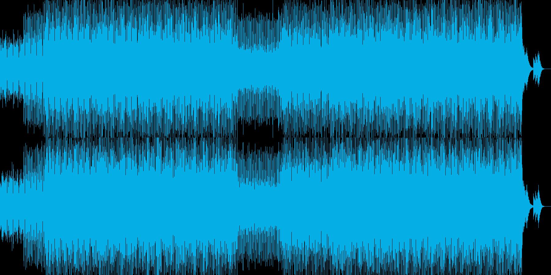 EDM明るいクラブ系キラキラシンセ-03の再生済みの波形