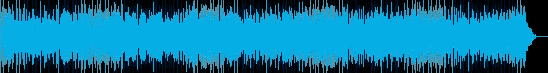 ほのぼのとした日常系アコースティックの再生済みの波形