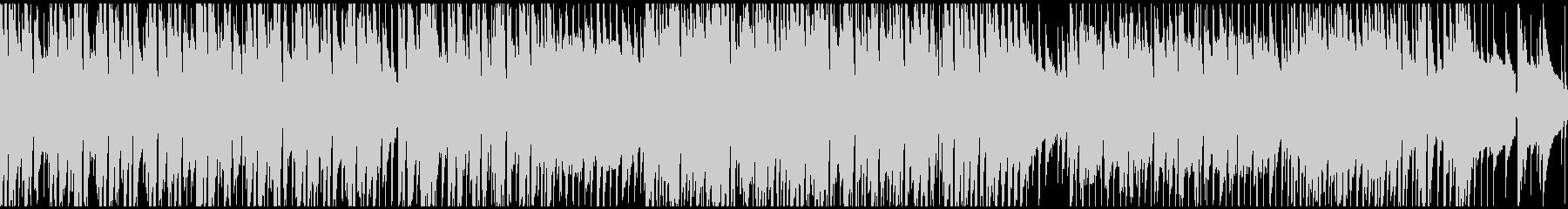 企業VP映像用のあかるい曲(ループ仕様)の未再生の波形