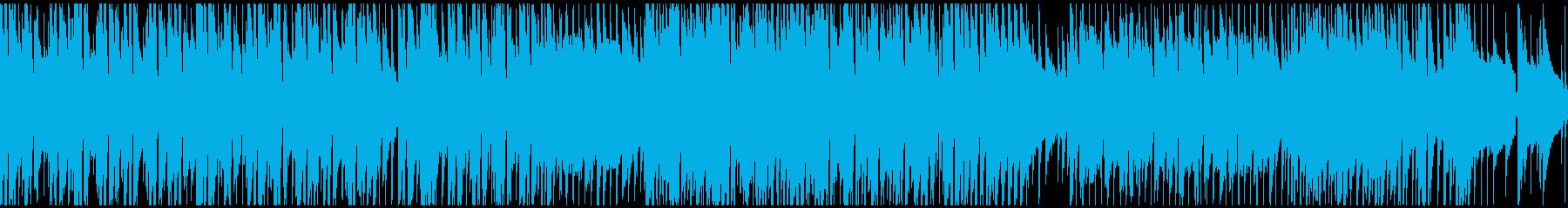 企業VP映像用のあかるい曲(ループ仕様)の再生済みの波形